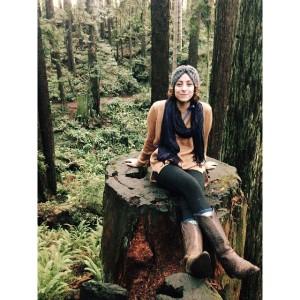 Daniela Vargas of Humboldt State University