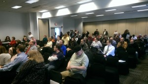 Ohio residents and SSDP students packed the town hall meeting on medical marijuana