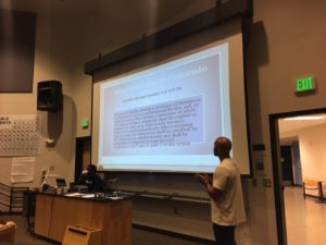 Alex Landau of CCJRC talks about voting rights in Colorado