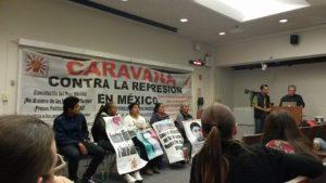 La Caravana contra la Represión en México