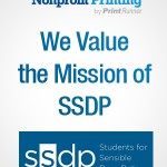 The Nonprofit Printing Program by PrintRunner Sponsors Students for Sensible Drug Policy