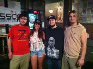 USF Chapter Members with Sam & Billy Brouse of Papadosio
