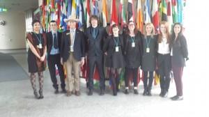 From left to right: Ayesha Mian, Ciaran Maher, Howard Wooldridge, Graham de Barra, Cliodhna Bairead, Lisa Campbell, Andjelka Jelčić, Martina Markoč, Nazlee Maghsoudi