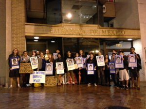 DC vigil for ayotzinapa