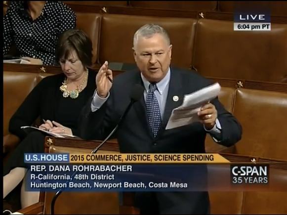 Congressman Dana Rohrabacher