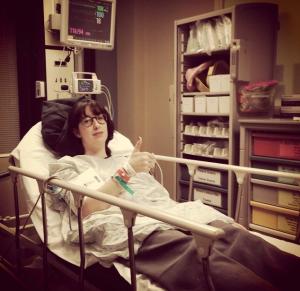 Lobby Day - Gen in hospital