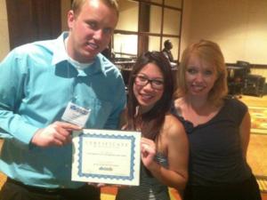 Colorado Law School SSDP winning the Rising Star Chapter Award in 2012