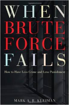 When Brute Force Fails- How to Have Less Crime and Less Punishment