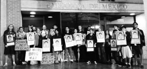SSDP vigil at Mexican Embassy