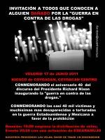 Invitation to Mexico City Vigil June 17th, 2011