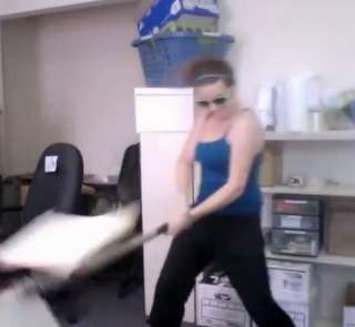 Destroying the office