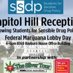 SSDP to Host Reception on Capitol Hill Following Federal Marijuana Lobby Day