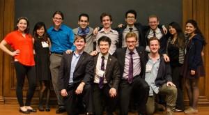 The Northwestern University SSDP Chapter! Photo by Devon Tackels