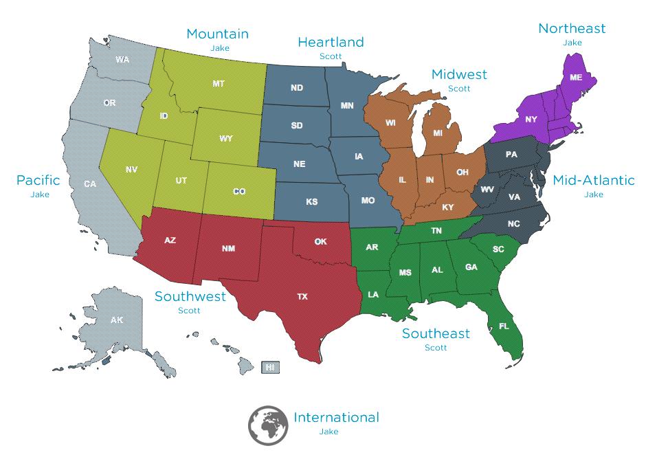 New SSDP Regions 2014