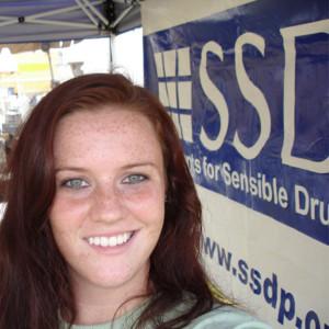 Me tabling for SSDP in 2006.