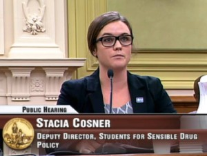Testifying before DC city council in 2015.