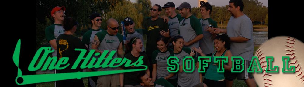 The One Hitters Softball Team