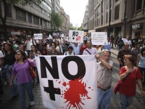 Drug War Protests in Mexico
