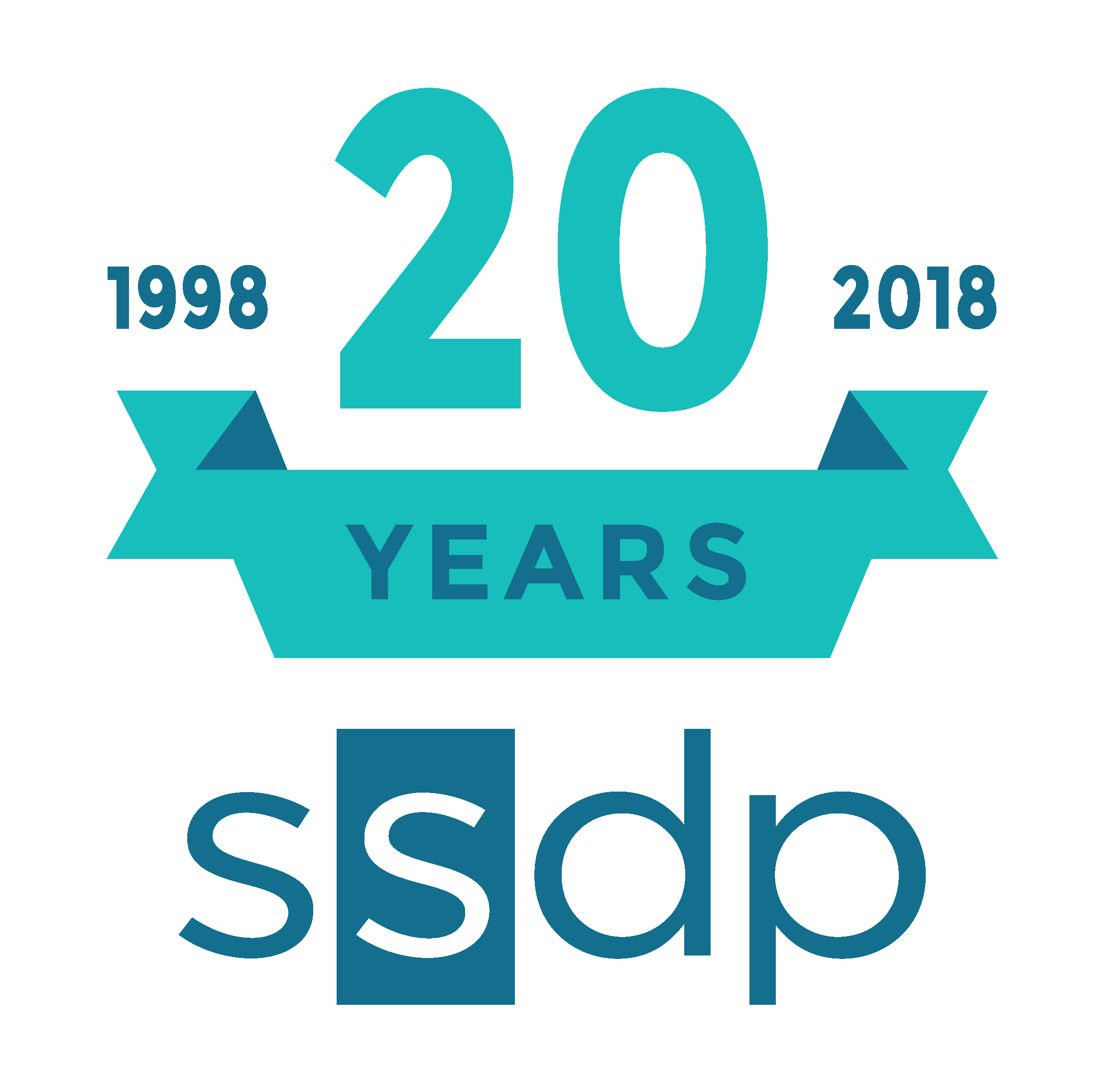 SSDP 20 Years Main Logo