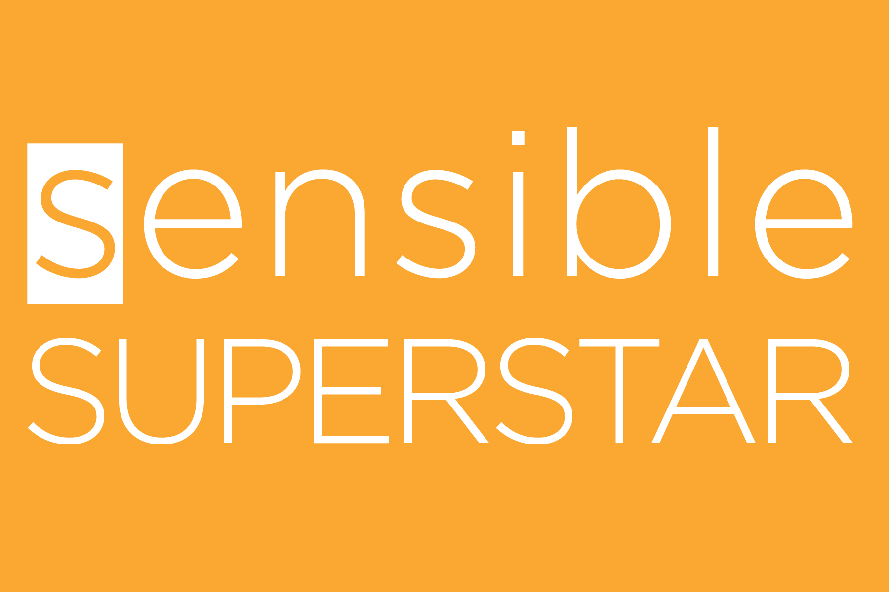 Sensible Superstar