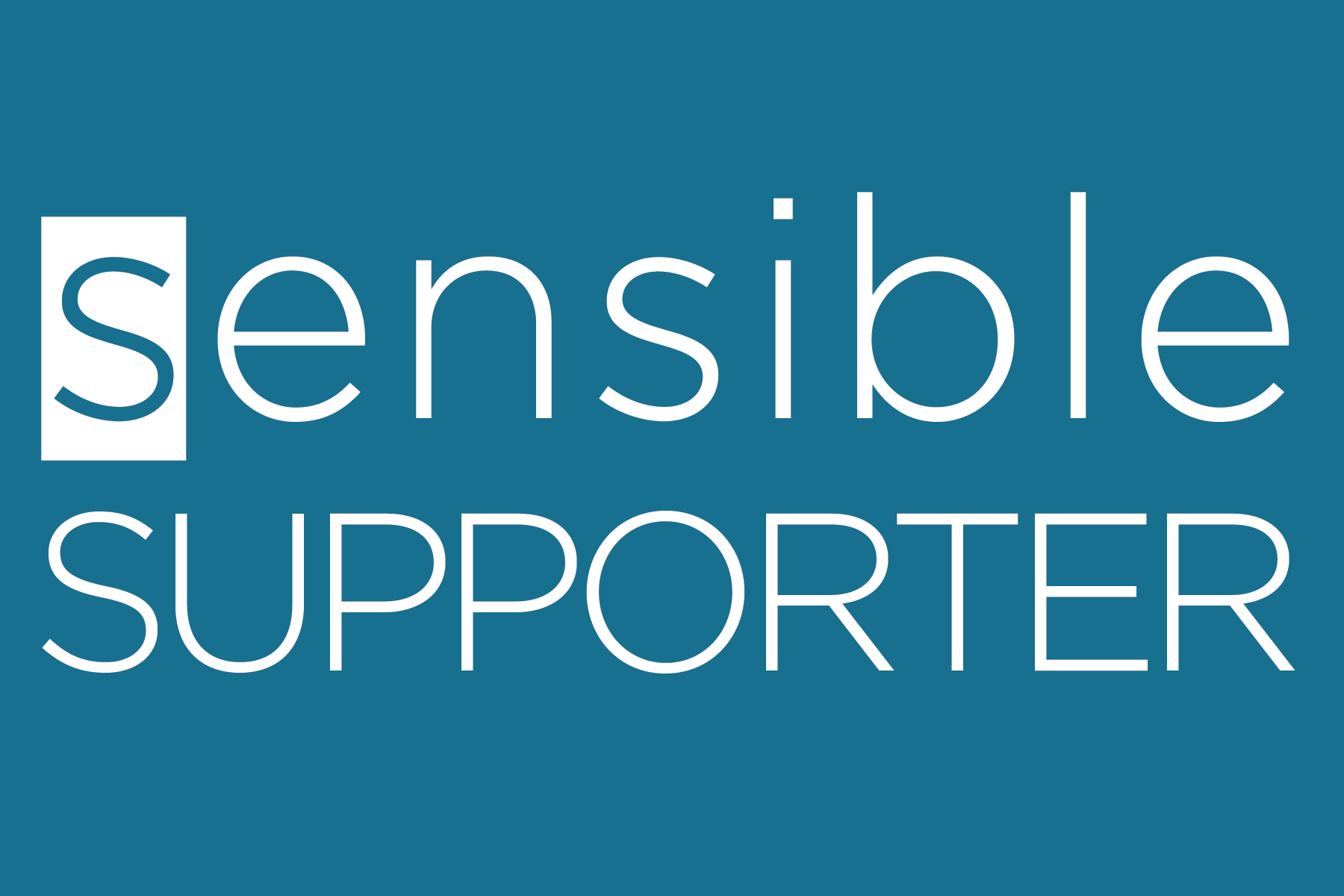 Sensible Supporter