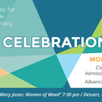 Join SSDP in Oakland for A Sensible Celebration