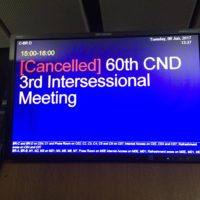 3rd CND Intersessional – An Update on Global Drug Policy