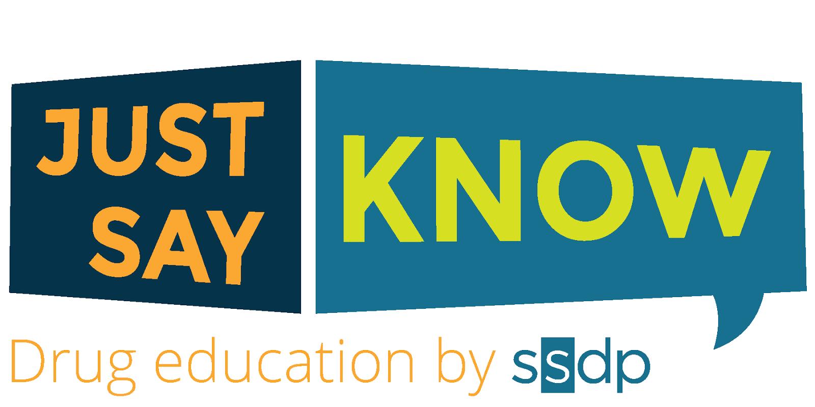 Just Say Know Drug Education Program logo