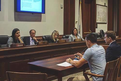 SSDPers testify at a Cannabis Control Commission hearing