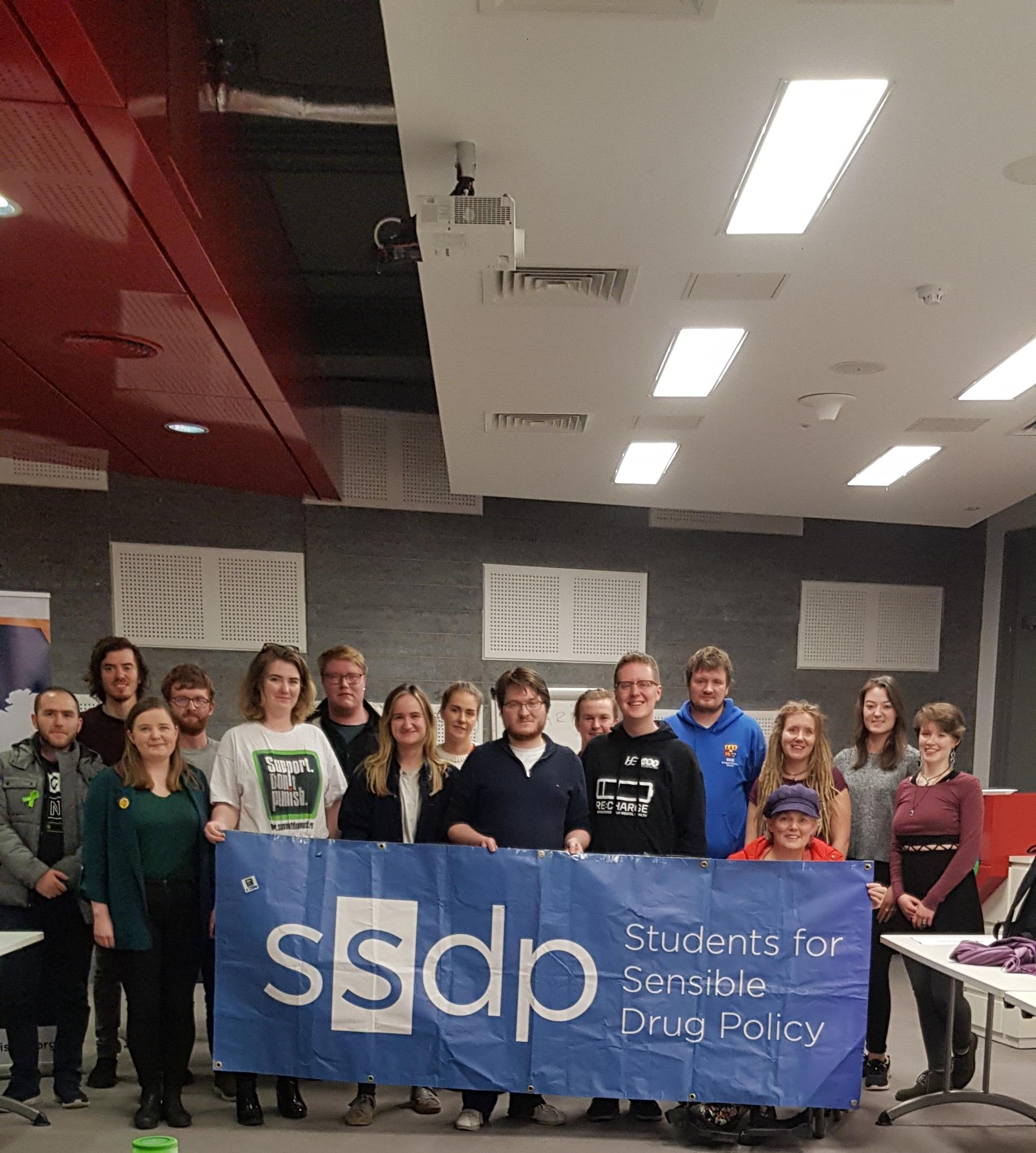 SSDP Ireland members at their 2019 national gathering