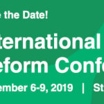 green banner that reads: International Drug Policy Reform Conference November 6-9, 2019 St. Louis, Missouri