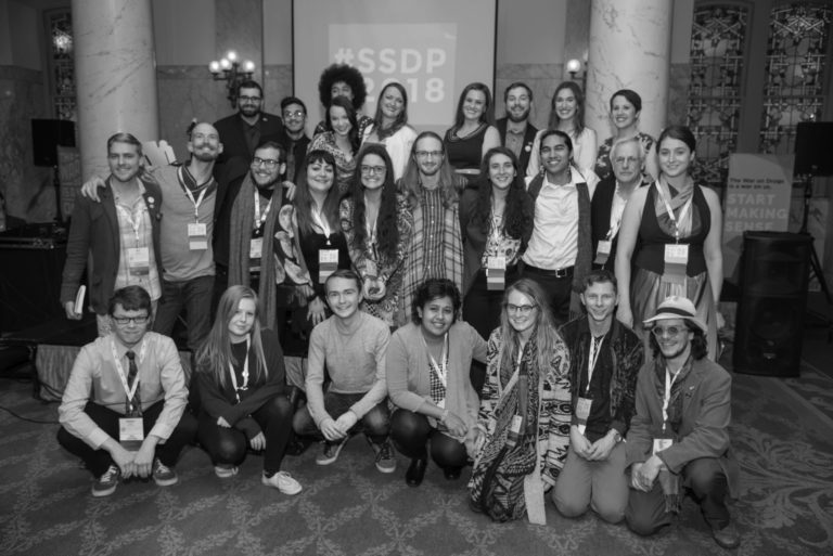 Members of the SSDP staff and board at SSDP2018.
