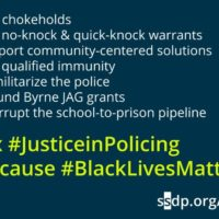 Congress: Amend and pass Justice in Policing now!