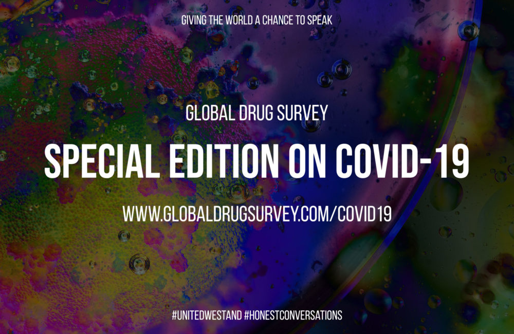 Global Drug Survey - Special Edition on COVID-19