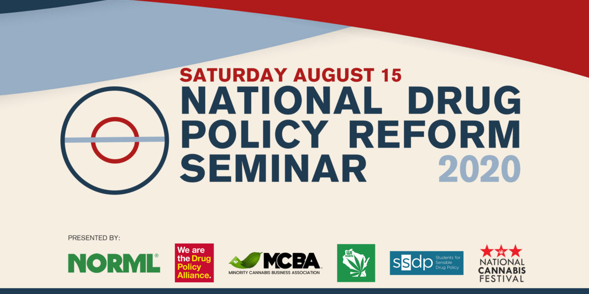 National Drug Policy Reform Seminar 2020