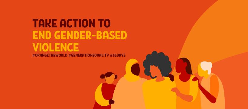 Take Action to End Gender Based Violence
