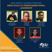 Register Now – Drug Policy & Transformational Leadership SSDP Africa