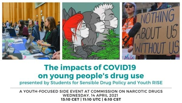 'The impacts of COVID-19 on young people's drug use'