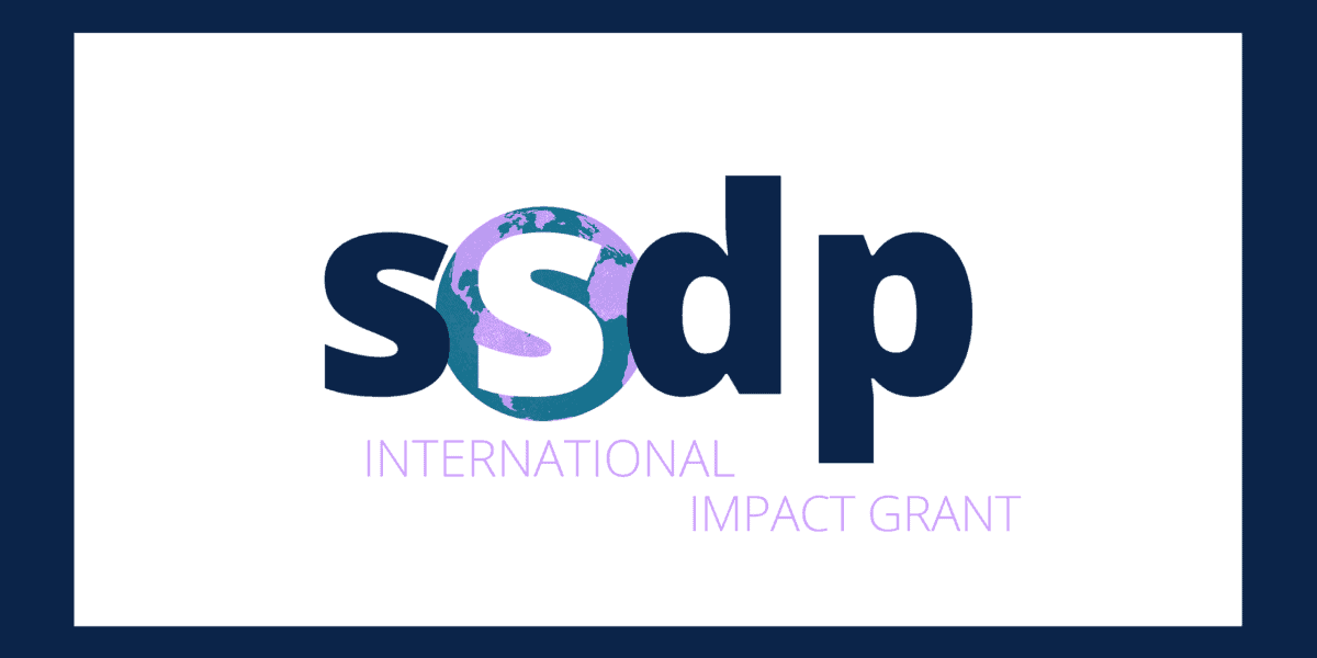 SSDP International Impact Grant