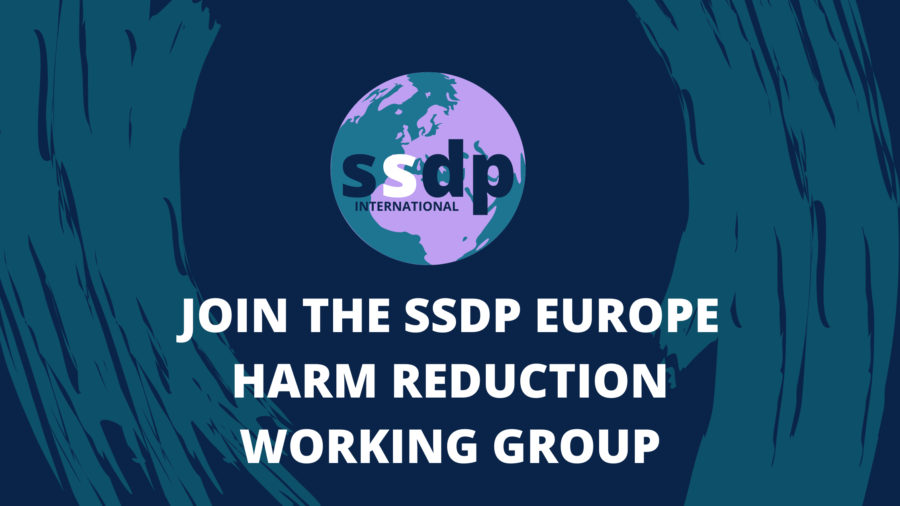 Join the SSDP Europe Harm Reduction Working Group