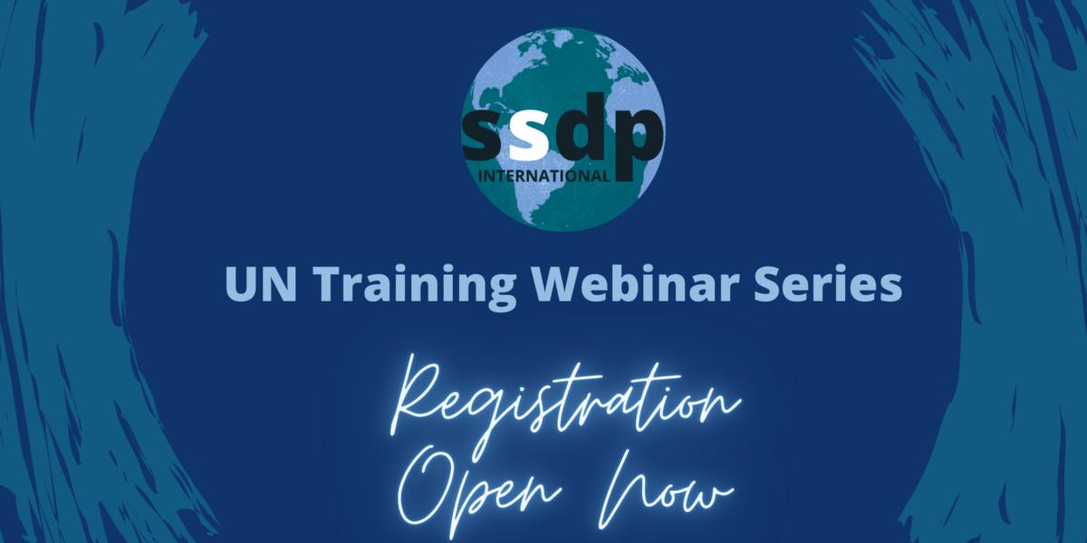 UN Training Webinar Series Registration Open Now